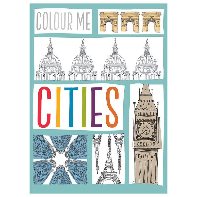 Colour Me Portrait: Cities: 9781785986734