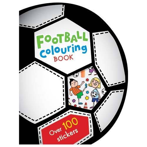 First Spread of Football Colouring Book (9781783932382)
