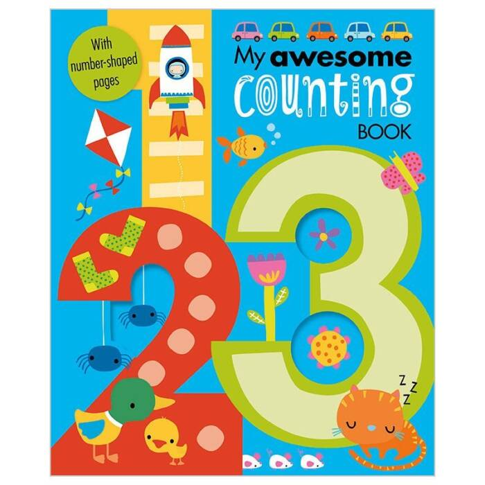 First Spread of My Awesome Counting Book (9781785985089)