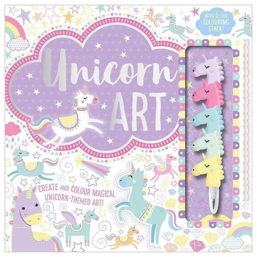 First Spread of Unicorn Art (9781788437172)