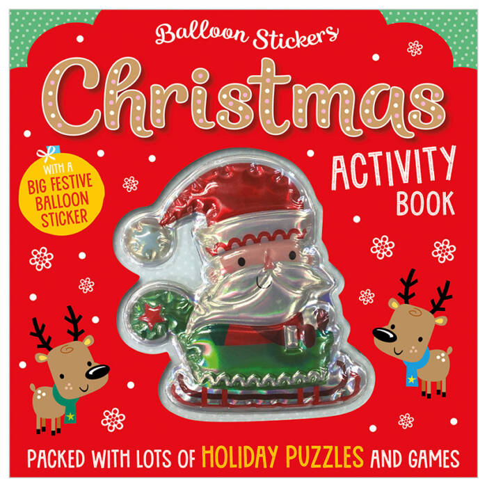 First Spread of Balloon Stickers Christmas Activity Book (9781789470574)