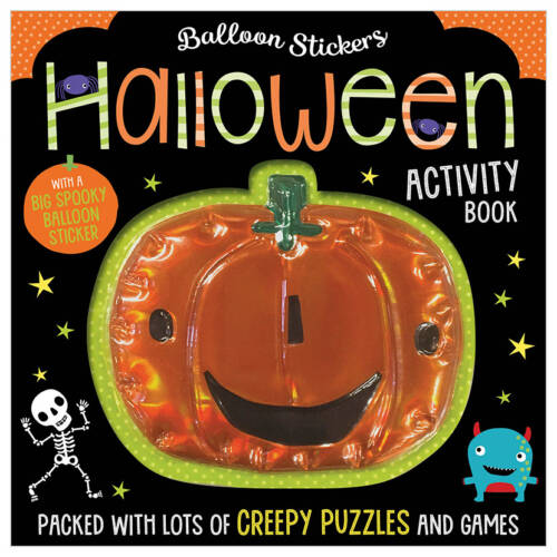First Spread of Balloon Stickers Halloween Activity Book (9781789470468)