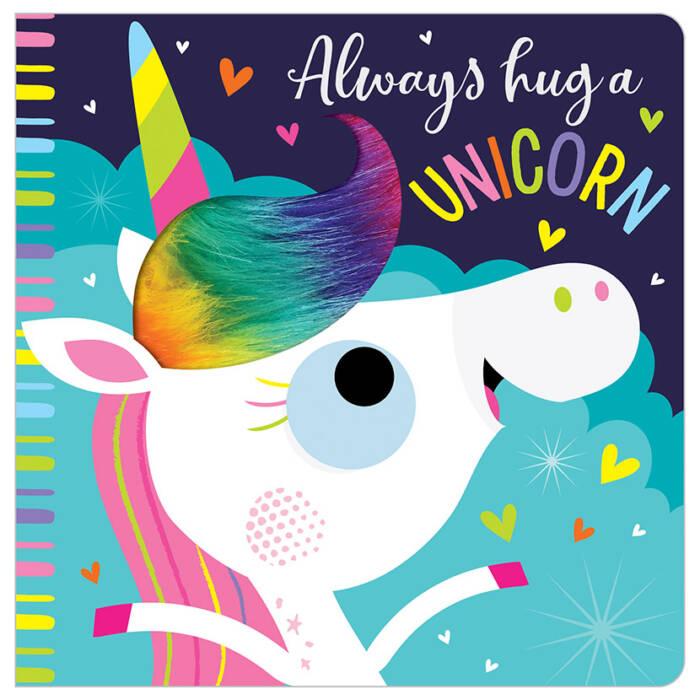 First Spread of Always Hug a Unicorn (9781788436984)