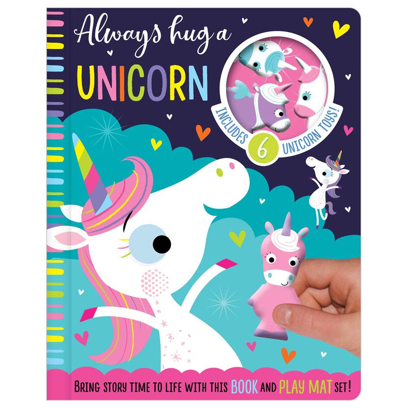 First Spread of Always Hug a Unicorn (9781789470703)