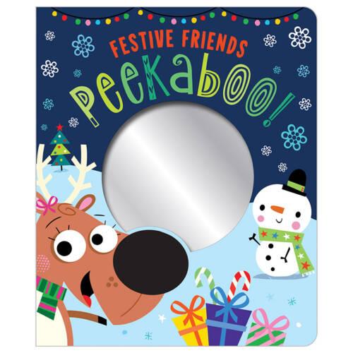 First Spread of Festive Friends Peekaboo! (9781789470611)