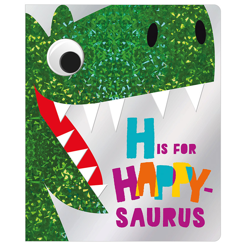 First Spread of H is for Happy-saurus (9781788439800)