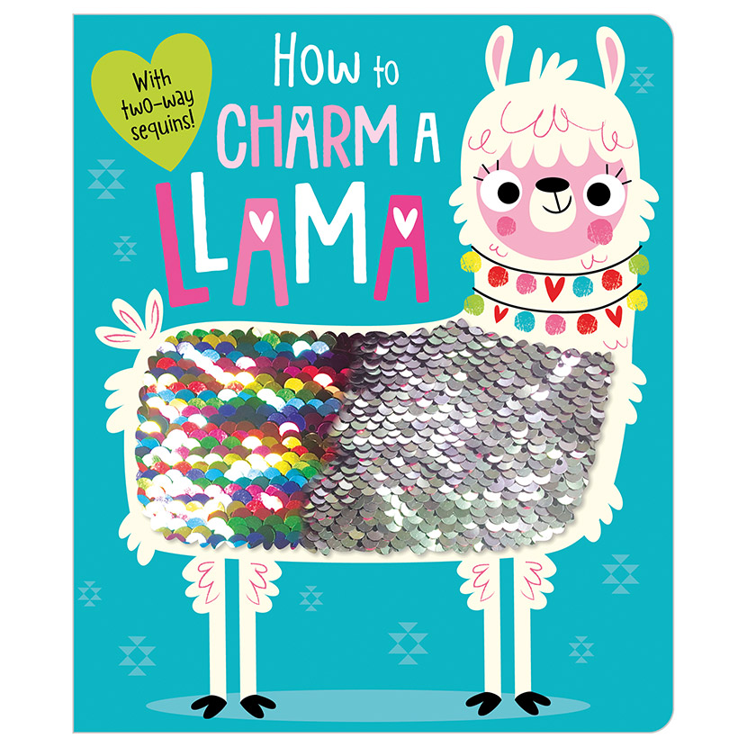First Spread of How to Charm a Llama (9781788436014)