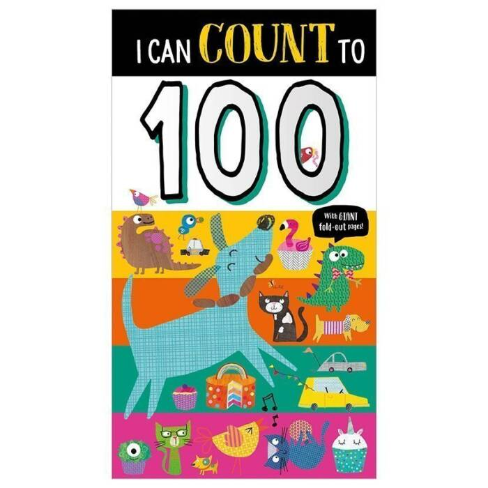 First Spread of I Can Count to 100 (9781788437004)
