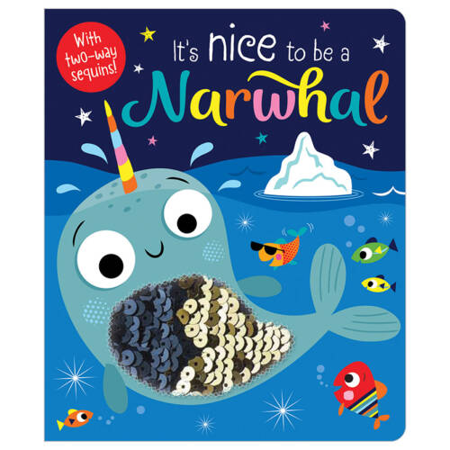 First Spread of It's Nice to be a Narwhal (9781788439992)