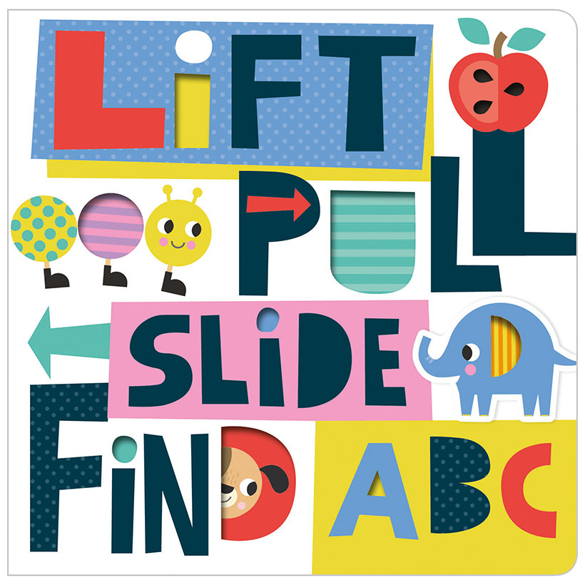 First Spread of Lift Pull Slide Find ABC (9781788439787)