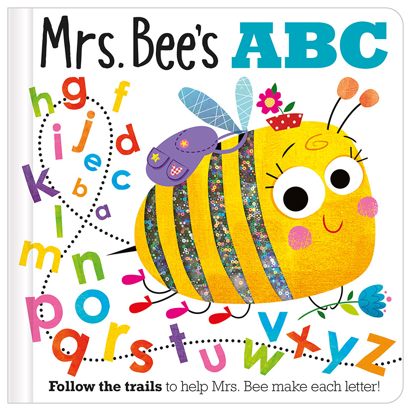 First Spread of Mrs Bee's ABC (9781788437028)