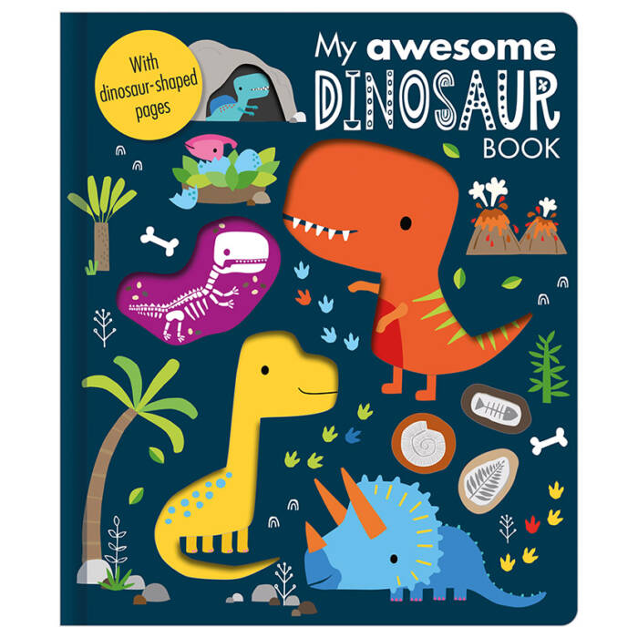First Spread of My Awesome Dinosaur Book (9781789470741)