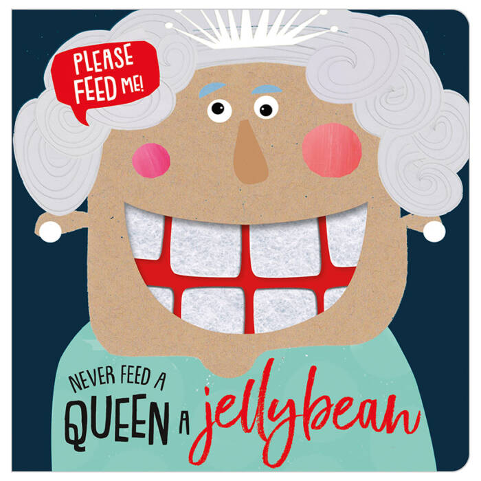 First Spread of Never Feed a Queen a Jellybean (9781789470505)