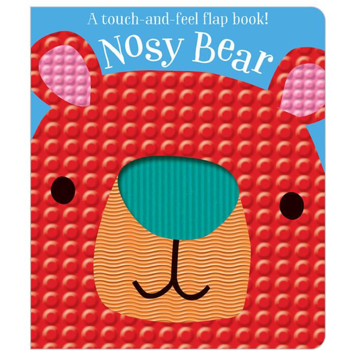 First Spread of Nosy Bear (9781786929327)