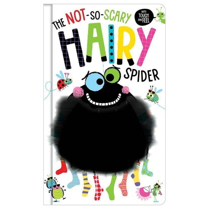 First Spread of The Not So Scary Hairy Spider (9781788436953)