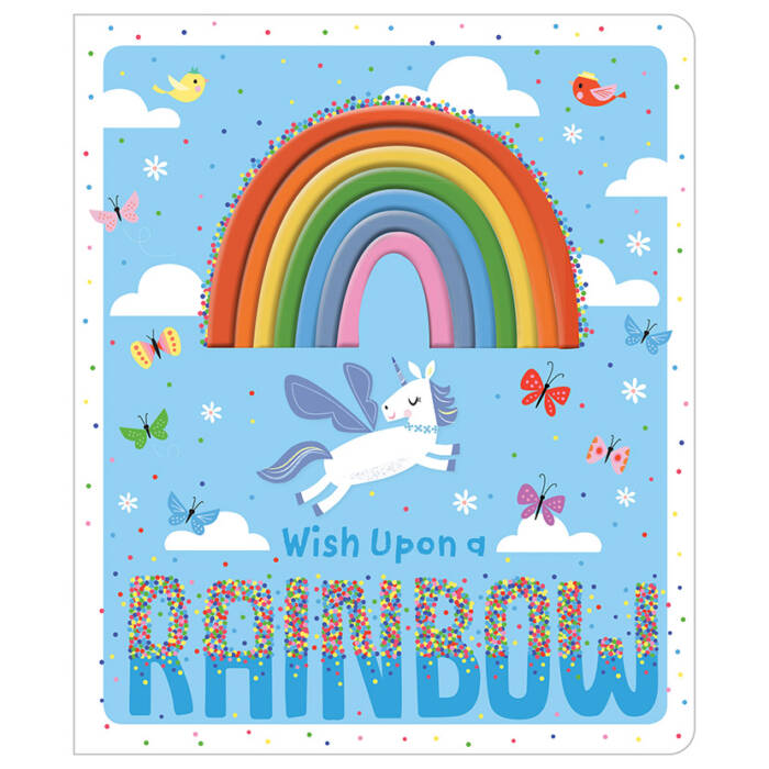 First Spread of Wish Upon a Rainbow (9781789470031)