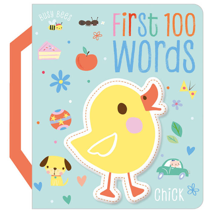 First Spread of Busy Bees First 100 Words (9781788436915)