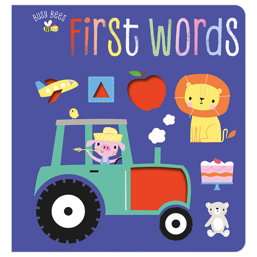 First Spread of Busy Bees First Words (9781788438605)