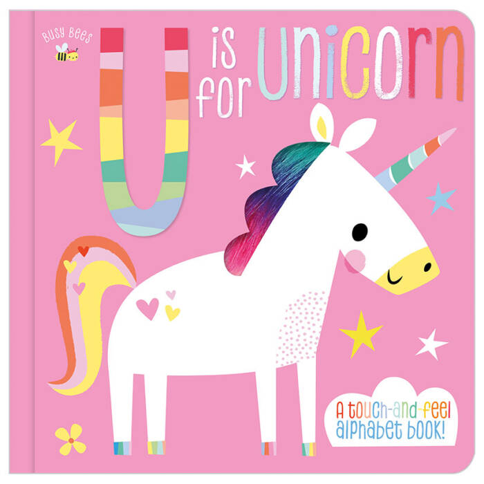 First Spread of Busy Bees U is for Unicorn (9781788436823)