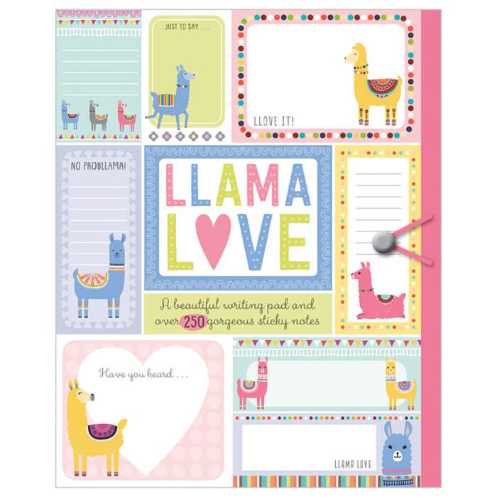 First Spread of Llama Love (9781788434676)
