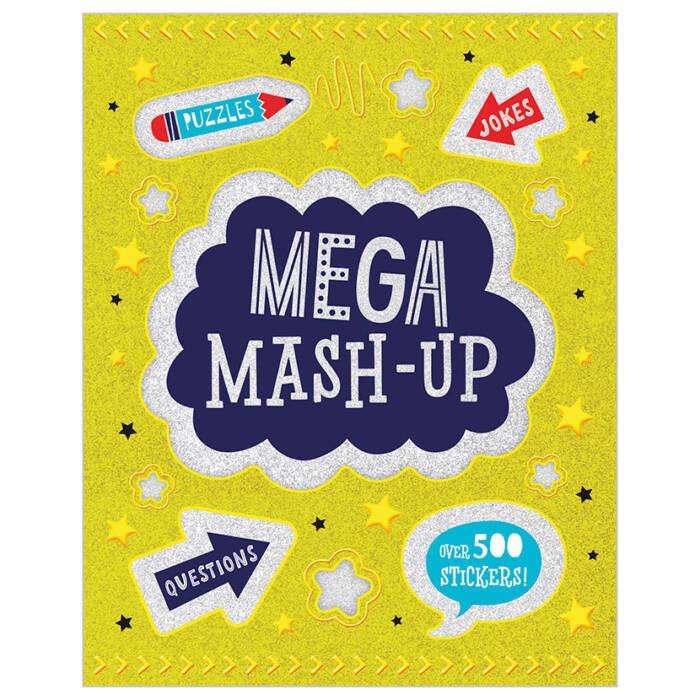 First Spread of Mega Mash-Up (9781789470437)