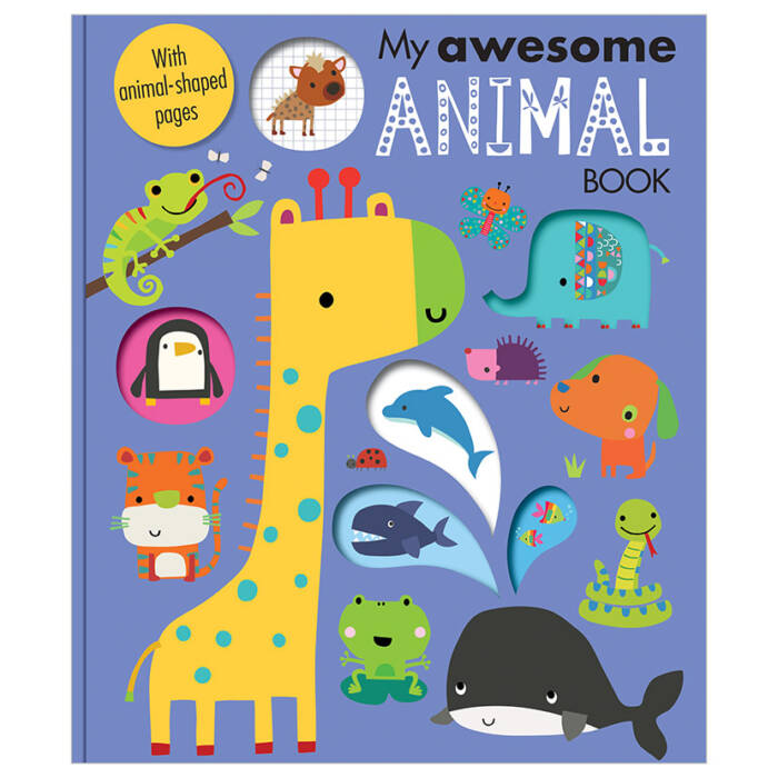 First Spread of My Awesome Animal Book (9781788435642)
