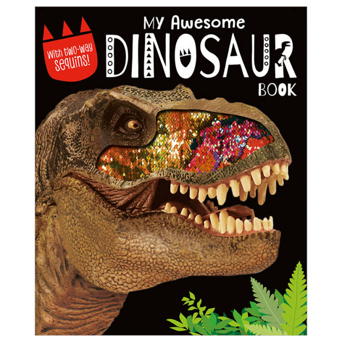 First Spread of My Awesome Dinosaur Book (9781788437622)
