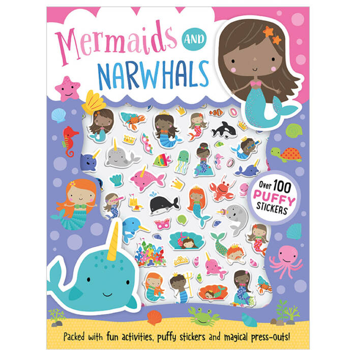 First Spread of Mermaids and Narwhals (9781789470338)
