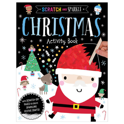 First Spread of Scratch and Sparkle Christmas Activity Book (9781789470581)