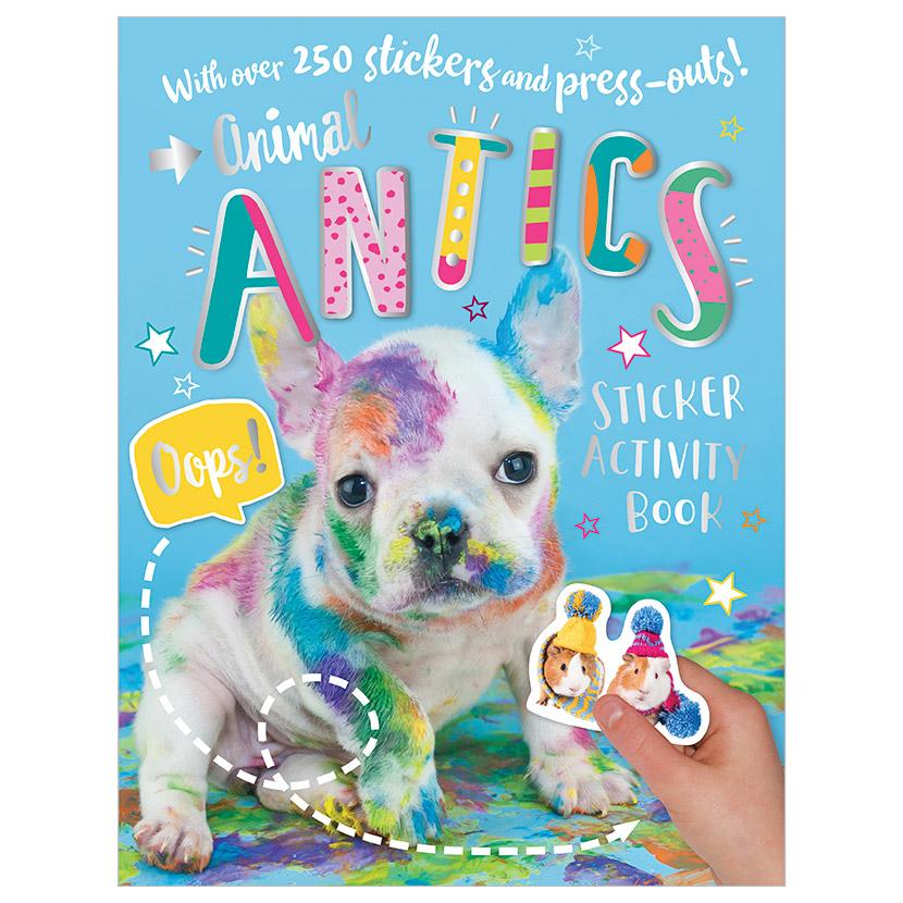First Spread of Animal Antics (9781788433471)