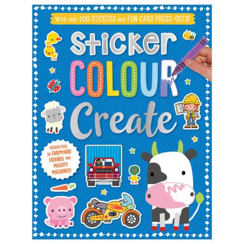 First Spread of Sticker Colour Create 2 (9781788437134)