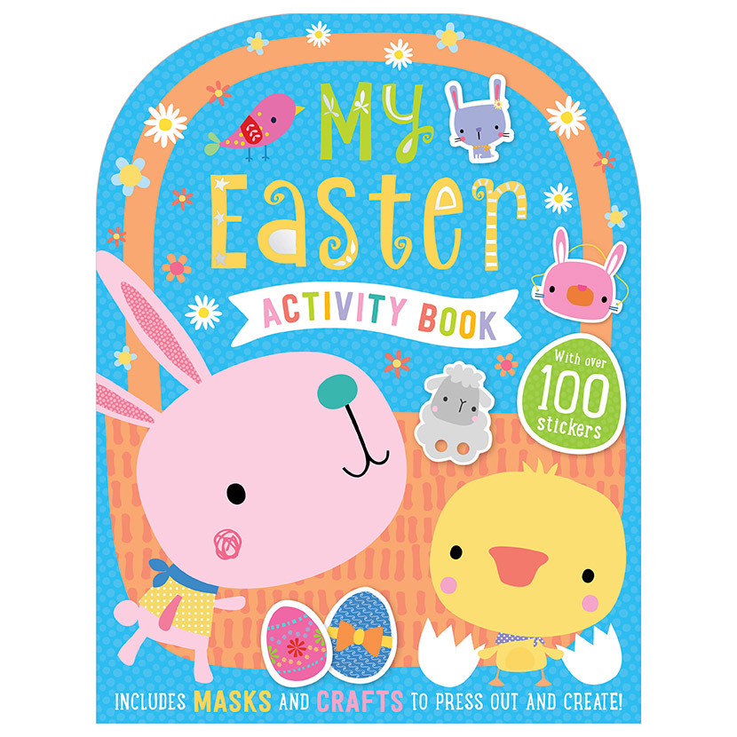 First Spread of My Easter Activity Book (9781788437608)