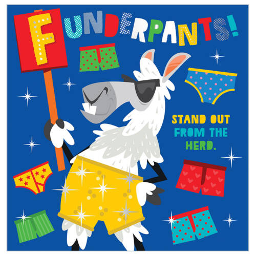 First Spread of Funderpants! (9781789470185)