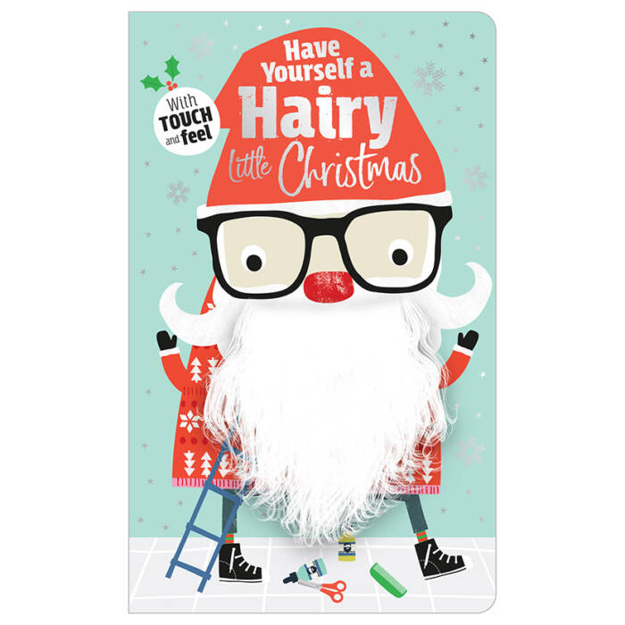 First Spread of Have Yourself a Hairy Little Christmas (9781788432948)