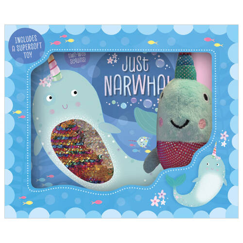 First Spread of Just Narwhal (9781789472127)