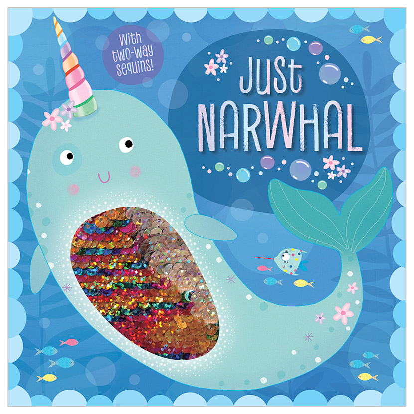 First Spread of Just Narwhal (9781788436304)