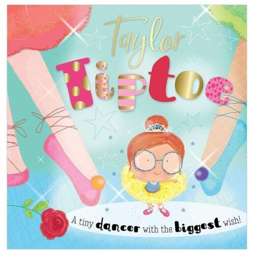 First Spread of Taylor Tiptoe (9781788432801)