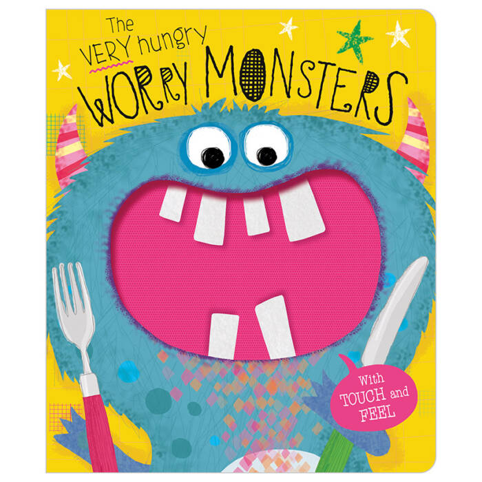 First Spread of The Very Hungry Worry Monsters (9781789477429)