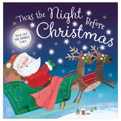 First Spread of Twas the Night Before Christmas (9781789470970)
