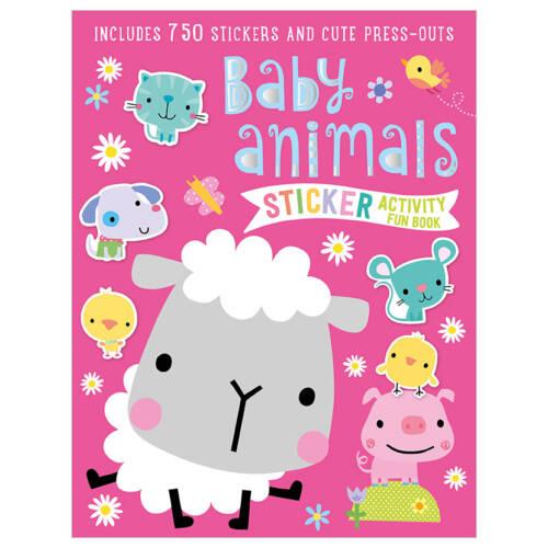 First Spread of Baby Animals Sticker Activity Fun Book (9781786929594)