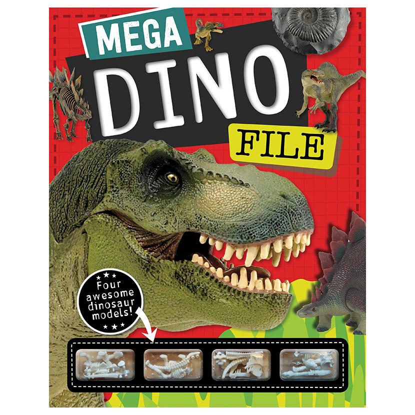 First Spread of Mega Dino File (9781786927002)