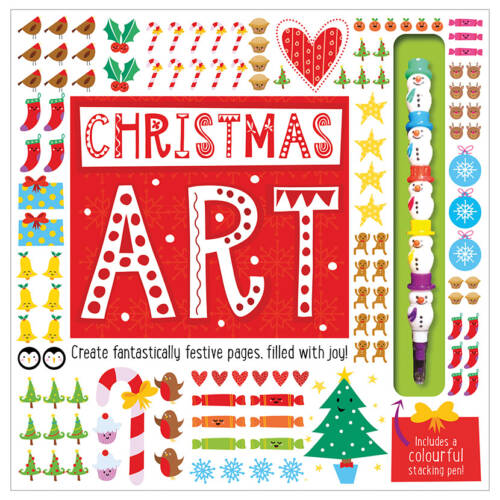 First Spread of Christmas Art (9781786923097)