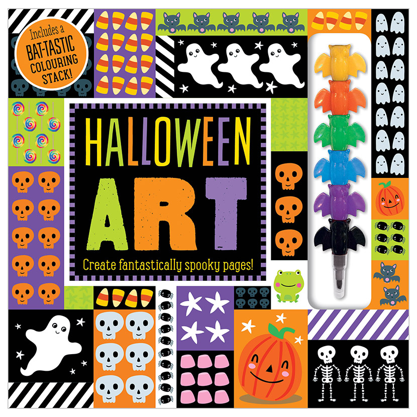 First Spread of Halloween Art (9781788433020)