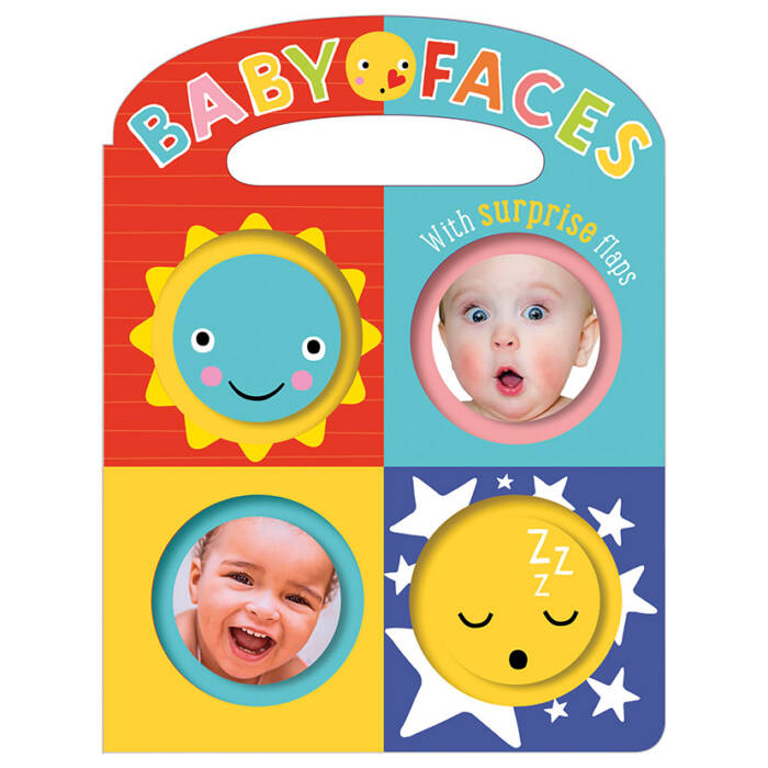 First Spread of Baby Faces (9781786922649)