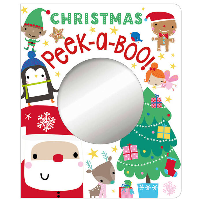 First Spread of Christmas Peek-a-Boo! (9781786925060)