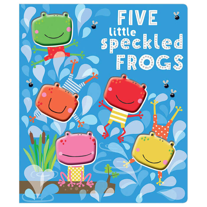 First Spread of Five Little Speckled Frogs (9781785989070)