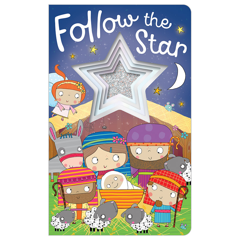 First Spread of Follow The Star (9781788432986)