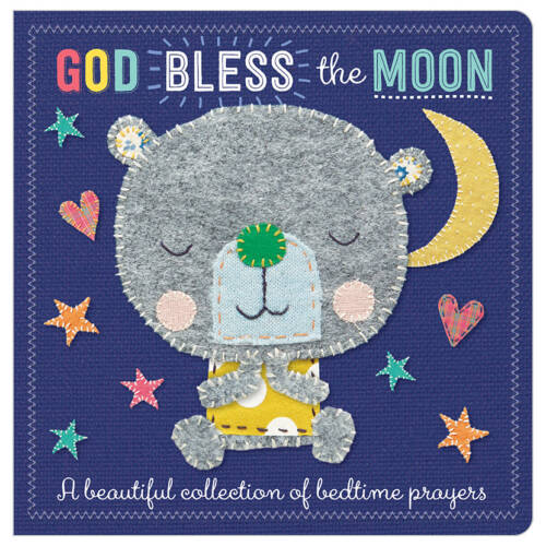 First Spread of God Bless The Moon (9781786929280)