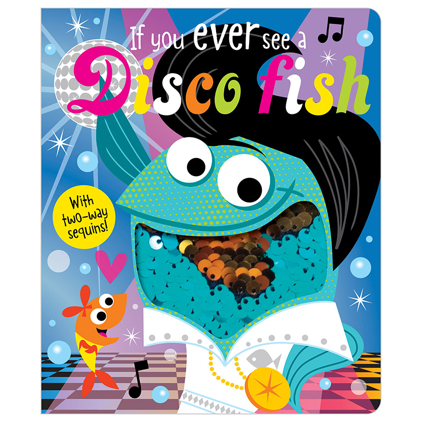 First Spread of If You Ever See a Disco Fish (9781788431156)