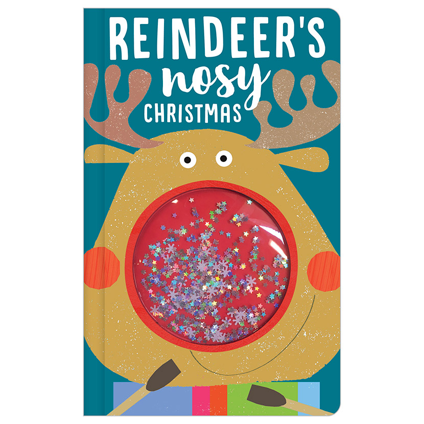 First Spread of Reindeer's Nosy Christmas (9781788432931)